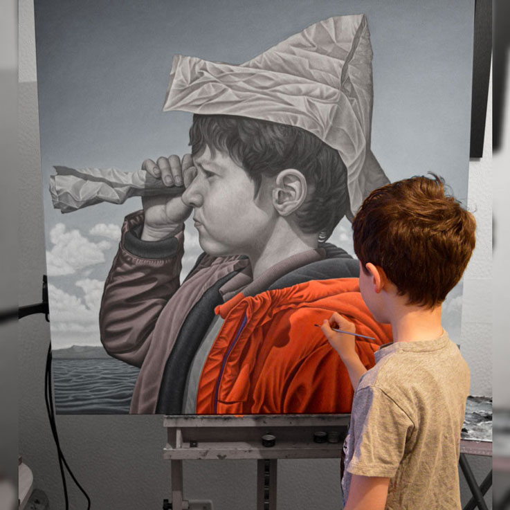 jason painting sail away connor maguire