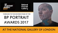 """Barry"" BP Portrait Awards 2017 National Gallery of London"