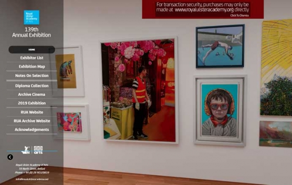 Royal Ulster Academy Exhibition 2020