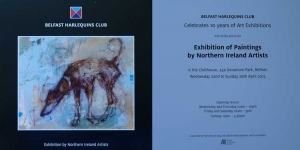 Harlequins Art exhibition